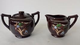 Occupied Japan Sugar Bowl and Creamer - $26.59