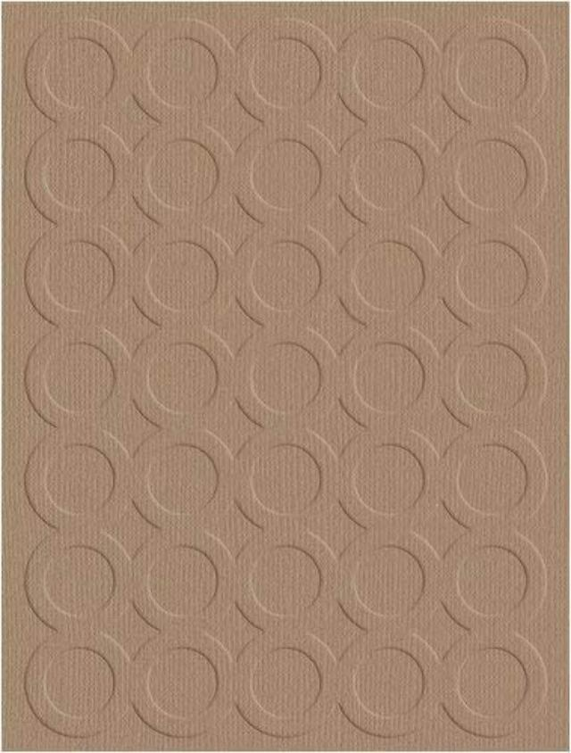 QuicKutz Rings Embossing Folder #EF-A2-012