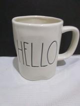 Rae Dunn Magenta M STAMPED Hello Mug NEW - $44.99