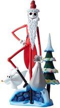 Kaiyodo The Nightmare Before Christmas Santa Jack Skellington Revoltech Action F - $224.15