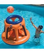 Swimline 90285 Basketball Hoop Giant Shootball Inflatable Fun Swimming Pool Toy - $56.38