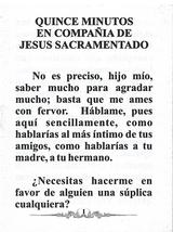 15 Minutos con Jesus Sacramentado image 2