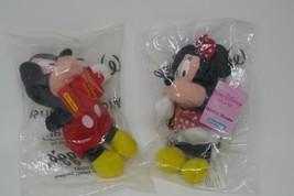 Kellogg's Walt Disney World Mini Bean Bag Plush ~ Mickey & Minnie Mouse ... - $11.29