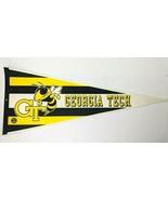 "Georgia Tech Yellow Jackets NCAA College Felt 30"" Pennant VTG Sports Mem... - $33.87"