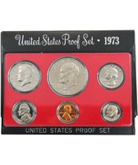 1973-S Proof Set United States US Mint Original Government Packaging Box... - €9,60 EUR