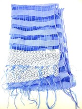 Simply Noelle Womens Lavender Sheer Rectangular Scarf Tassel - $6.77