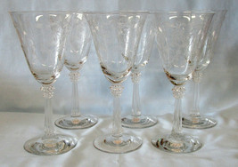 Fostoria Shirley Water Goblet Set of 6 - $70.18