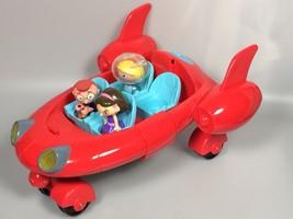Disney Little Einsteins Pat Pat Rocket sound Leo Annie June Figures cake... - $114.03