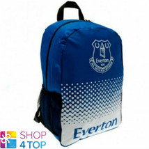 EVERTON FC BACKPACK SCHOOL TRAVEL BAG BLUE FOOTBALL SOCCER CLUB TEAM NEW - $16.62