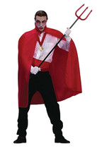 RG Costumes Red Taffeta Cape, 45'' - $82.26