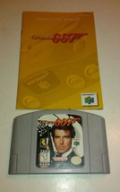 GoldenEye 007 (Nintendo 64, 1997) w/ Manual - $28.01