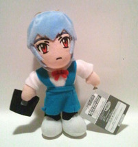 "Neon Genesis Evangelion ""School Girl Rei"" Plush / UFO Catcher * Anime (0... - $14.88"