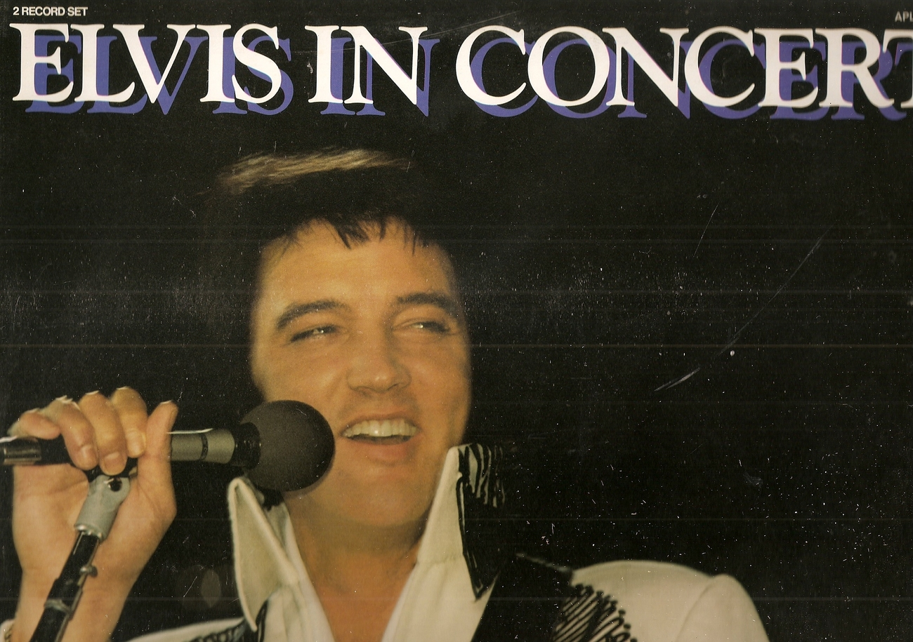 LP--Elvis Presley 	-	 In Concert