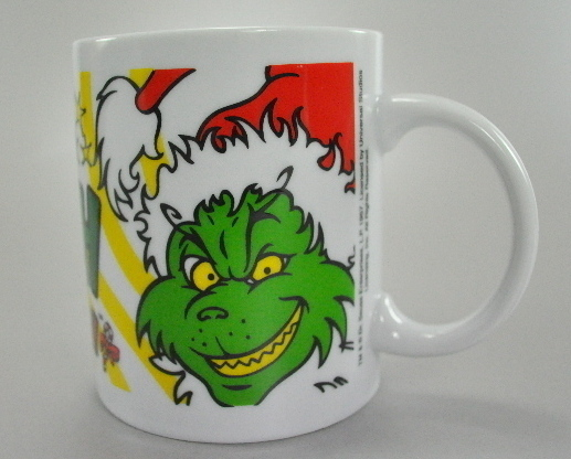 How The Grinch Stole Christmas Coffee Mug Cup