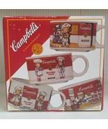 Vintage 1997 Set Of 4 Campbell's Kids Souper Mugs! Complete Set in Origi... - $59.40