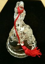 Waterford Crystal Marquis Noel Angel Bell Christmas Ornament Third in a Series image 5