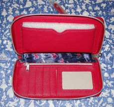 Disney Parks Minnie Mouse Bow Lg Wallet/ Wristlet NWT Pink image 2