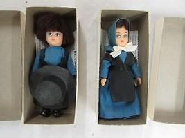 AMISH DOLL Boy GIRL IN BOX W/ HISTORY OF THE AMISH PENNSYLVANIA DUTCH LA... - $19.99