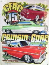 Cruisin' for a Cure Against Prostate Cancer Car Event September 2014 Met... - $29.95