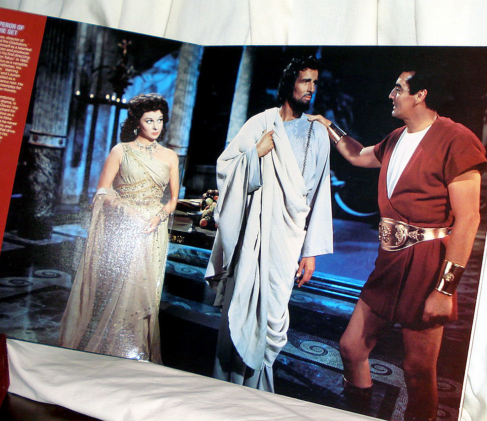 'Demetrius and the Gladiators' on Special Widescreen Edition Laser Disc, Mint!