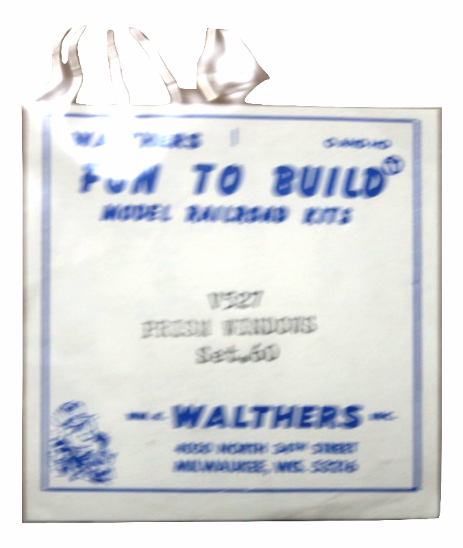 Walthers Prism windows accessories for HO model railroad 949-527 NIP