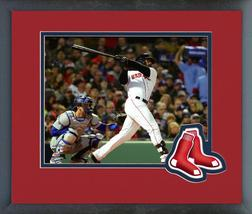 Jackie Bradley Game 2 of the 2018 World Series-11x14 Logo Matted/Framed Photo - $42.95