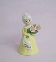 Vintage June Lady Figurine Bell Japan FREE SHIP... - $11.99