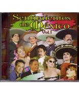SENTIMINETOS DE MEXICO VOL 1 CD - $4.95