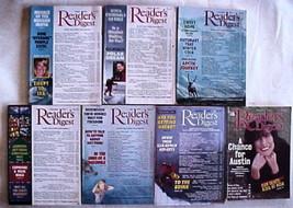 (7) READER'S DIGEST Magazines-8/1992; 3/1993; 11/1993; 7/1994; 12/1996; ... - $27.99