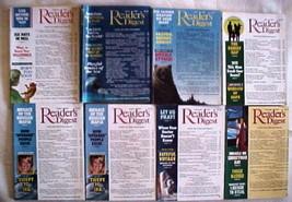(8) READER'S DIGEST Magazines-1992-FEBRUARY,MARCH,JUNE,JULY,AUGUST,NOVEM... - $29.99