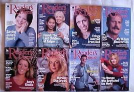 (8) READER'S DIGEST Magazines-2000-APRIL,MAY,JUNE,JULY,SEPTEM,OCT,NOVEMB... - $29.99