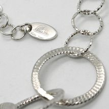 Choker Necklace 925 Silver with Circles Worked by Mary Jane Ielpo ,Made in Italy image 3