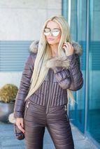 Women's Brand Fashion Hooded Ski Suit Snow Jumpsuit image 8