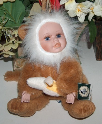 Primary image for Geppeddo Cuddle Kids Milo Monkey Doll