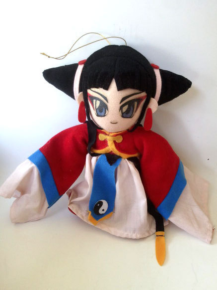 "Magic Knight Rayearth ""Lady Asuka / Aska of Fahren"" Plush / UFO Catcher * Anime"