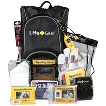 Life+gear Day Pack Emergency Survival Backpack Kit LG492 - $52.67