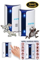 Ultrasonic Pest Reject Repellent Plug Electronic Indoor Outdoor Human & ... - $36.68