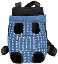 Dog / Cat Legs Out Carrier Backpack: Travel, Hiking Camping - BROKEN COW... - $15.00