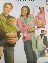 Mccalls Pattern 5678 Baby Carriers Sizes Small Medium Large UN-CUT - $4.15