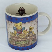 Boyds Bears Coffee Mug Sweetie Pies Vintage 1998 Bearware Pottery Cup  - $9.99