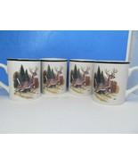 Bass Pro Shops Coffee Mug Cup Wildlife Whitetail Buck Deer Hunting Bundl... - $35.28