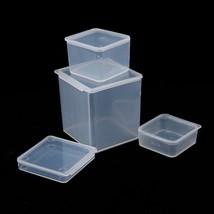 Plastic Jewelry Storage Boxes Beads Crafts Cases Containers Cosmetics Or... - $3.99+