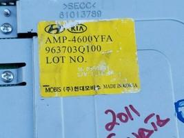 Hyundai Sonata Stereo Radio Amplifier MOBIS 963703Q100, 96370-3Q100, AMP-4600YFA image 2