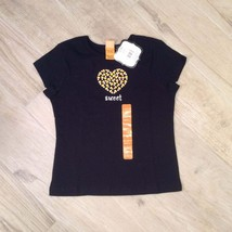 CANDY CORN TEE Black 6x Girls - $12.86