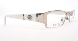 GUCCI Women's Frame Glasses GG2910 Light Gold Ice 52-17-135 MADE IN ITAL... - $199.95