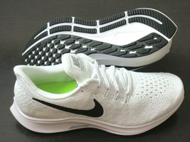 Nike Womens Air Zoom Pegasus 35 TB Running Shoes White Black Pure Platinum NIB - $84.99