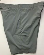 Greg Norman Performance Golf Shorts Size 40 Gray Flat Front 5 Pocket - $22.49