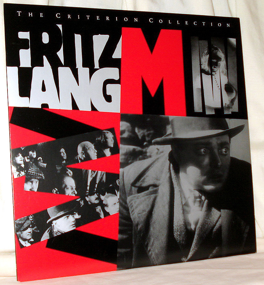 Peter Lorre Rates an 'M' With Stunning Lang on Laser Disc