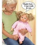 "Interactive Educational 16"" Doll Teaches The Body Parts Christmas Gift - $38.24"