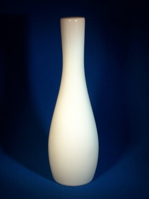 Porcelain ICY VODKA OF ICELAND Small Pitcher or Vase - Near Mint!